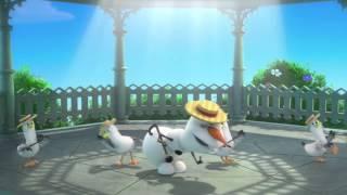 "Video thumbnail of ""Frozen - Olaf - Sognando l'Estate."""