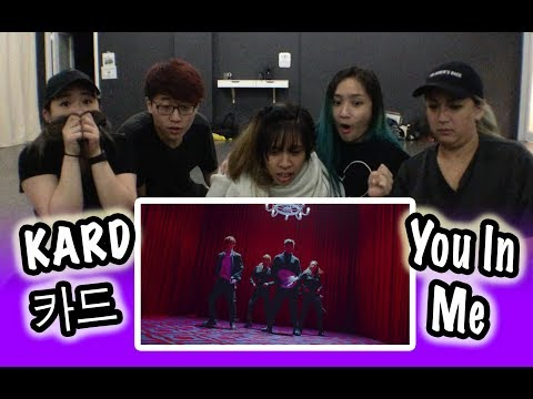 [KPOP REACTION] KARD 카드 -- YOU IN ME