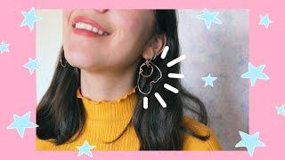 DIY: Artsy Gold Wire Earrings