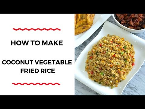 HOW TO MAKE COCONUT VEGETABLE FRIED RICE – RICE RECIPES – ZEELICIOUS FOODS