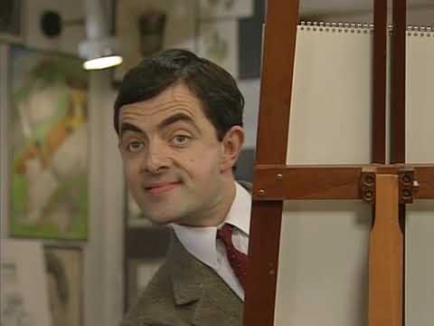 Master Pieces of Bean   Funny Clips   Mr Bean Official