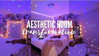 Aesthetic Bedroom Transformation // *tiktok + Pinterest Inspired*