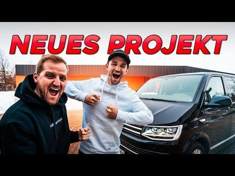 Unser neues Projekt! | VW T6 DA-Team Bus | Daniel Abt