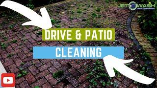 Driveway & Patio Jet Washing | Get Rid Of Weeds