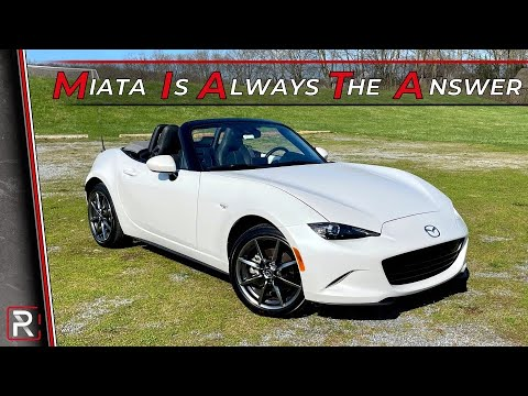 Here's Why the Mazda MX-5 Miata Continues to be the Best-Selling Sports Car in the World