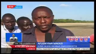 Wakaazi wa Lamu wagundua kisima karibu na ziwa la Lake Kenyatta