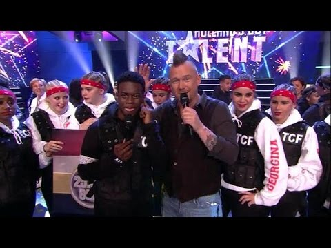The Fire wint Holland's Got Talent!  - RTL LATE NIGHT