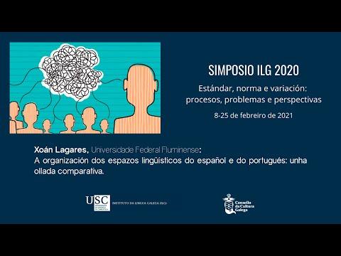 A organización dos espazos lingüísticos do español e do portugués: unha ollada comparativa