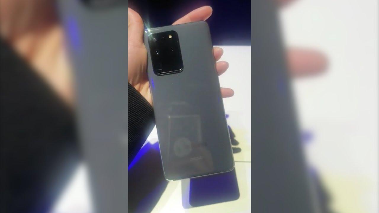 [갤럭시 언팩 2020] 삼성 최초의 후면 인덕션 폰 갤럭시 S20