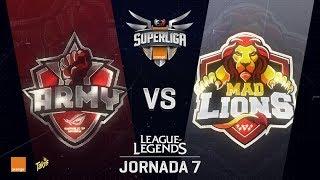 ASUS ROG ARMY VS MAD LIONS   Superliga Orange J07   Partido 1   Split Verano [2018]