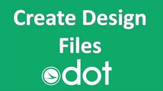 Create Design Files  - OHDOT Standards