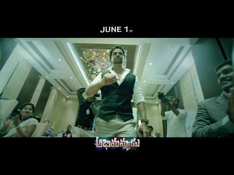 Abhimanyudu Movie Latest Promo 1