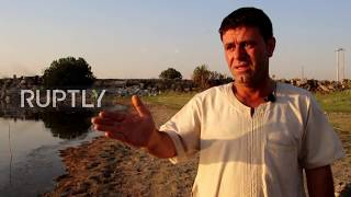 Syria: Water level in Euphrates River falls to record low