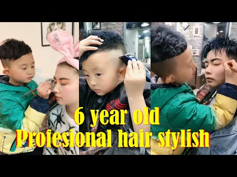 6 Year Old Child Professional Hair Stylist