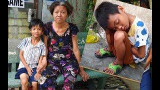 Tìm về tận nhà cậu bé bán vé số ngủ gục và bất ngờ lý do bé không được đi học
