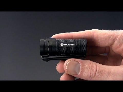 Olight S1 MINI Baton Cree XM-L2 LED 600 Lumens Ultra Compact LED Flashlight