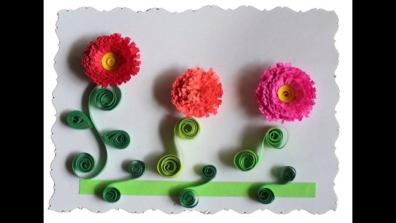 Tarjeteria en Filigrana (Quilling) Flores 2/2