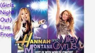 G.N.O (Girls Night Out) - Miley Cyrus [LIVE VERSION]