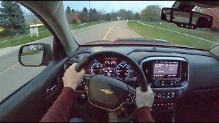 [WR Magazine] 2021 Chevrolet Colorado ZR2 - POV Night Drive (Binaural Audio)