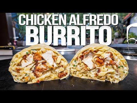 Have Yall Ever Tried Chicken Alfredo Burrito?
