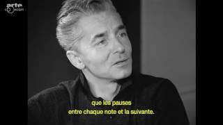 Karajan and Yehudi Menuhin talk about music