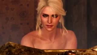 Ведьмаг 3 / Witcher 3. Цири в бане без полотенца / Naked Ciri in the sauna