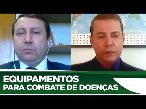 David Soares quer incentivar produção de equipamentos para combate de doenças - 25/06/20