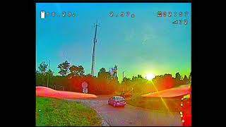 DRONE CAR CHASING + FPV FREESTYLE