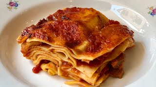 Pasta Grannies discover two lasagne recipes from Macerata in central Italy