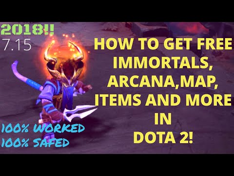 May 2019] DOTA 2 How to get free arcana/immortal/terrain