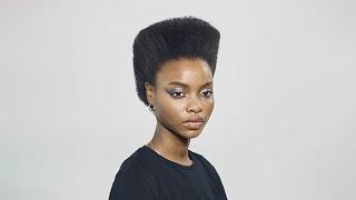 ghd  Tutorial peinado ghd   HIGH TOP por Charlotte Mensah   Secador ghd helios couture anuncio