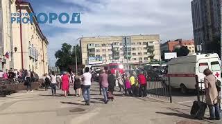 Эвакуация ЖД вокзала Рязань-1