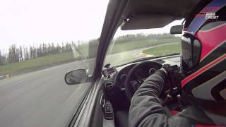 preview picture of video 'Brno circuit 06.04.2014 onboard - Integra DC2 TypeR B18C6'