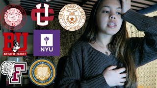COLLEGE DECISIONS REACTION 2018 (NYU, UC Berkeley, Northeastern, UChicago, BU & More)