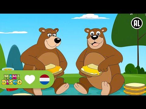 Kinderliedjes | Tekenfilm | IN ZAG TWEE BEREN | Minidisco