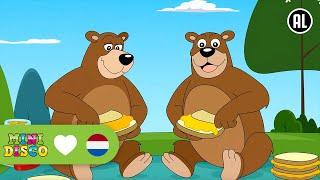 Kinderliedjes | Tekenfilm | IK ZAG TWEE BEREN | Minidisco | DD Company