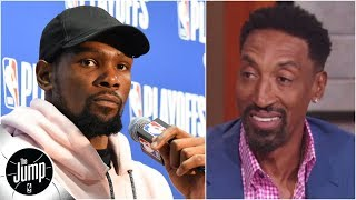Kevin Durant 'should be the happiest player in the NBA' - Scottie Pippen | The Jump