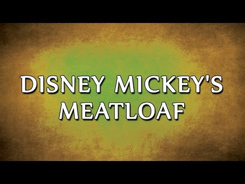 Disney Mickey's Meatloaf | RECIPES | EASY TO LEARN