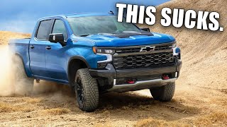 Here's Why The 2022 Chevy Silverado ZR2 is a HUGE Disappointment...