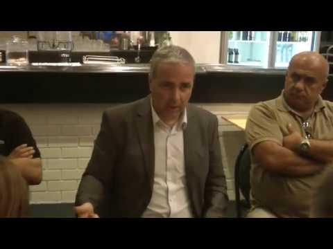 Ομιλία του Νίκου Λυγερού με θέμα «Στρατηγική 100ετίας» σε εκπροσώπου Ποντίων της Αυστραλίας
