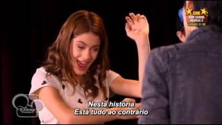 """Violetta - Tomás e Violetta cantam """"Voy Por Ti"""" (Legendado em Português)"""
