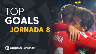 All goals Matchday 8 LaLiga Santander 2021/2022