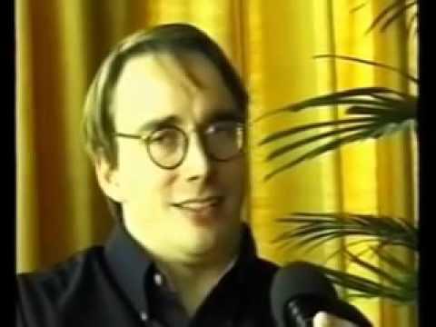 Linus Torvalds hosts on Bill Gates' platform ! Open Source or LF