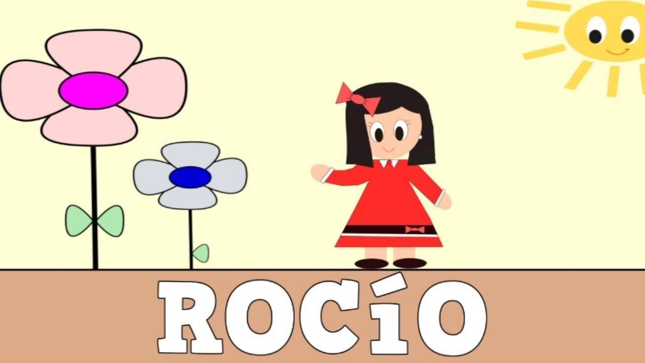 Aprender a Leer y Escribir ROCÍO - Vídeos educativos para Niñosy Bebés - Paty y Poty