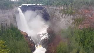 Wells Grey Provincial Park Waterfalls in Canada
