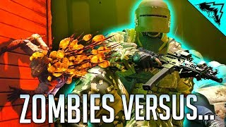 SIEGE ZOMBIES VS TACHANKA - Rainbow Six Siege Outbreak Gameplay Highlights