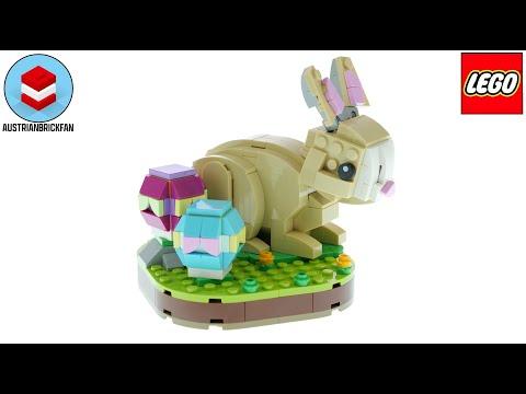 Vidéo LEGO Objets divers 40463 : Le lapin de Pâques