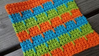 Episode 81: How To Crochet The Bahama Stripe Dishcloth