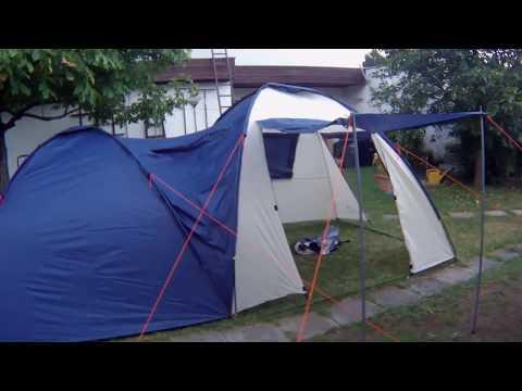 CampFire 4 Personen Zelt Alleinaufbau in 30min
