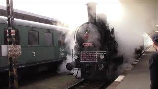 Pražský železniční den 23 9 2017   poslední jízda Čtyřkoláka přes Pražský semmering   Hostivice   Ru